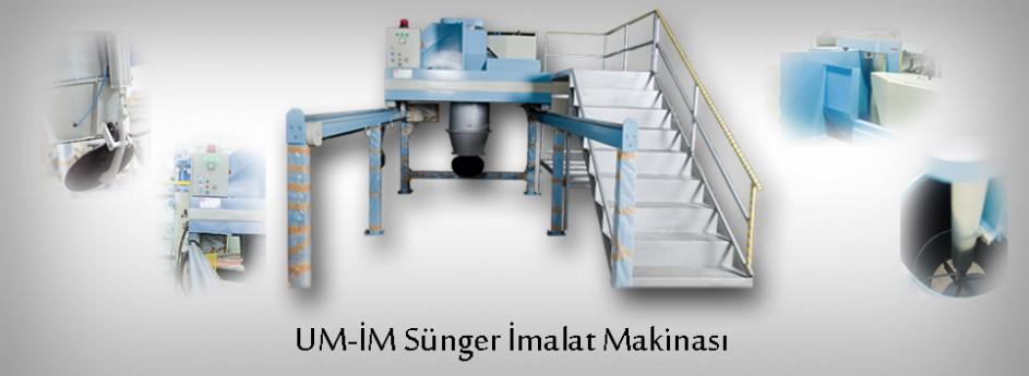 UM-İM Sünger İmalat Makinası